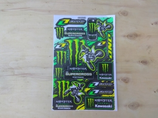 Samolepky - Monster Energy Supercross